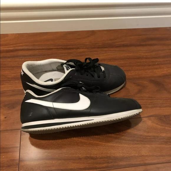Shoes | Nike Cortez Black Mens Size 115